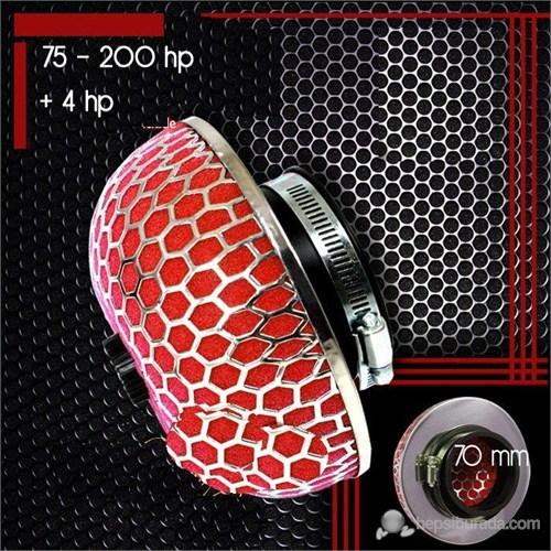 ModaCar Hexagon 70 mm Giriş Çapı Mantar Yüksek Performans Filtre