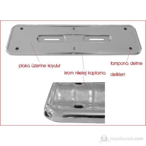 ModaCar PLAKA ALTLIĞI Hummer Nikelajlı 360020