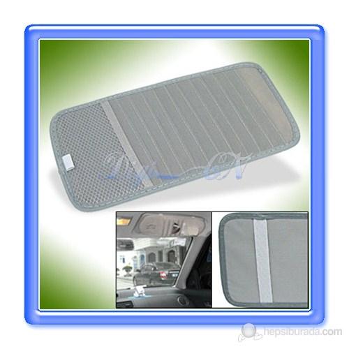 Z tech Oto cd lik (Güneşlik montajlı) Gri