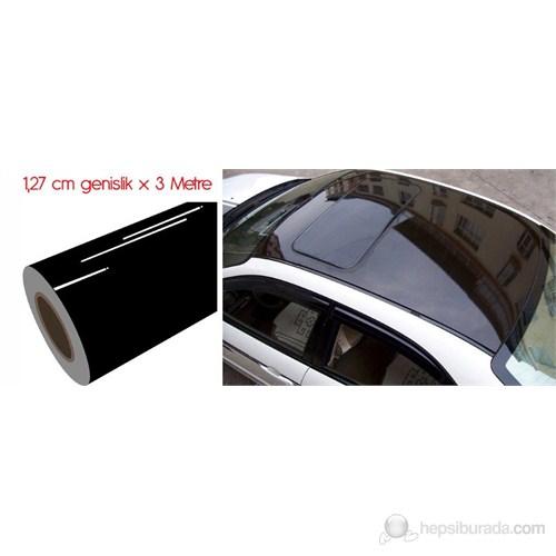 ModaCar Panoramik Parlak Cam Tavan Görünümlü Folyo Kaplama 1,25 X 3 Metre 06a089