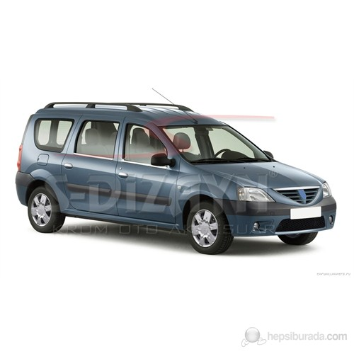 S-Dizayn Dacia Logan Mcv Cam Çıtası 4 Prç. P.Çelik (2005>)