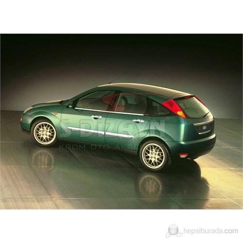 S-Dizayn Ford Focus Yan Kapı Çıtası 4 Prç. P.Çelik (1998-2005)