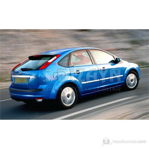S-Dizayn Ford Focus Yan Kapı Çıtası 4 Prç. P.Çelik (2005-2008)