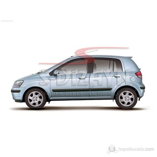 S-Dizayn Hyundai Getz Kapı Kolu 4 Kapı P.Çelik (2002>)