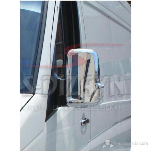 S-Dizayn Mercedes Sprinter W 906 Ayna Kapağı 2 Prç. P.Çelik (2006>)