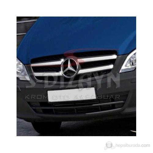 S-Dizayn Mercedes Vito W 639 Ön Panjur 4 Prç. P.Çelik (2010>)