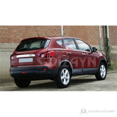 S-Dizayn Nissan Qashqai Cam Çıtası 4 Prç. P.Çelik (2007>)