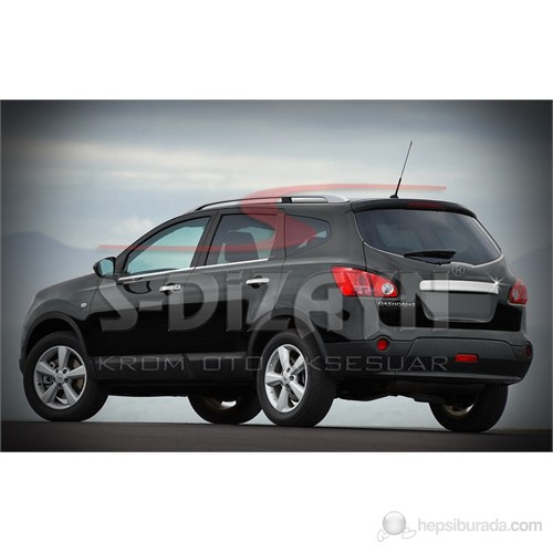 S-Dizayn Nissan Qashqai Bagaj Çıtası P.Çelik (Sensörlü) (2010>)