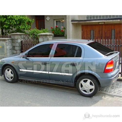 S-Dizayn Opel Astra G Cam Çıtası 4 Prç. P.Çelik (2001-2009)