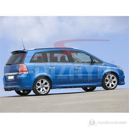 S-Dizayn Opel Zafira Cam Çıtası 8 Prç. P.Çelik (2006>)