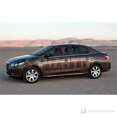 S-Dizayn Peugeot 301 Cam Çıtası 6 Prç. P.Çelik (2012>)