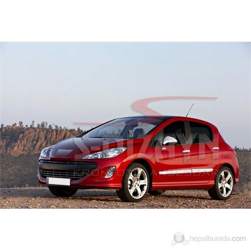 S-Dizayn Peugeot 308 Yan Kapı Çıtası 4 Prç. P.Çelik (2007>)