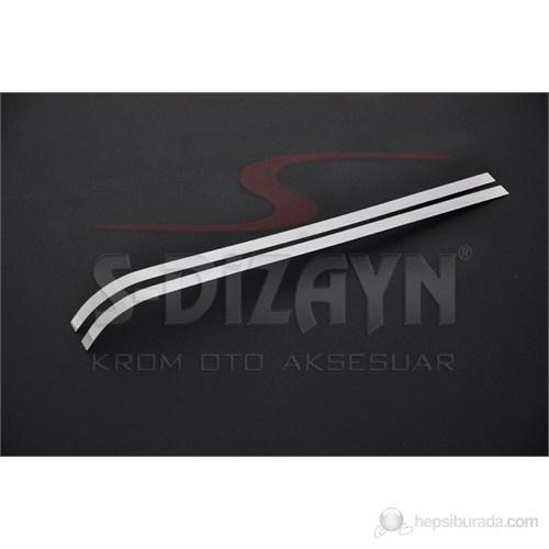 S-Dizayn Peugeot Bipper Sürgülü Kapı Çıtası 2 Prç. P.Çelik (2008>)