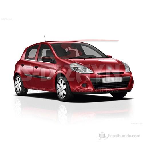 S-Dizayn Renault Clio III- Hb Cam Çıtası 4 Prç. P.Çelik (2006>)