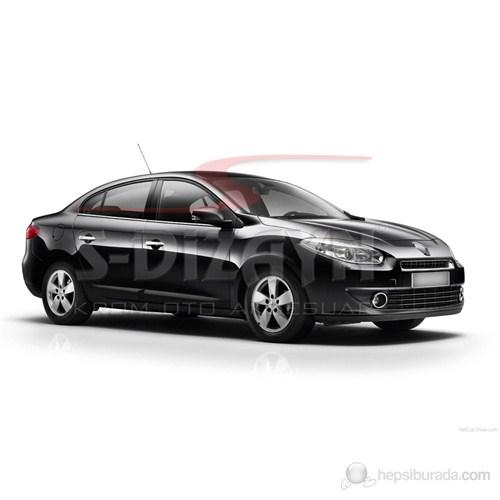 S-Dizayn Renault Fluence Kapı Kolu 4 Kapı P.Çelik (Sensörlü) (2010>)