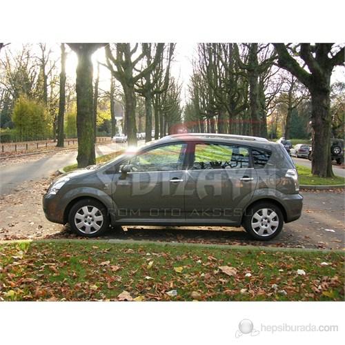 S-Dizayn Toyota Verso Cam Çıtası 4 Prç. P.Çelik (2006>)