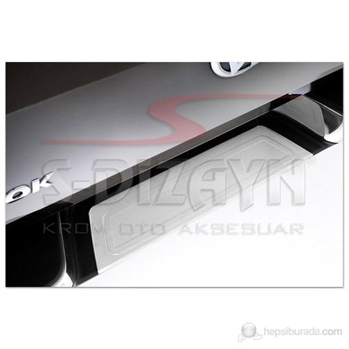 S-Dizayn Vw Amarok Arka Tampon Eşiği P.Çelik (2010>)