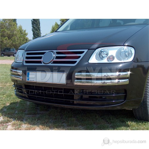 S-Dizayn Vw Caddy Ön Tampon Kaşı 4 Prç. P.Çelik (2004-2010)