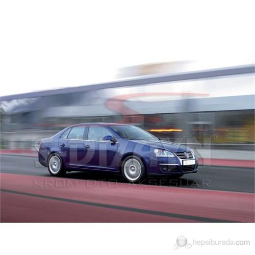 S-Dizayn Vw Jetta Cam Çıtası 4 Prç. P.Çelik (2006-2011)