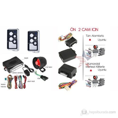 ModaCar Oto Alarm + 2 li Cam Modülü Set 34g006