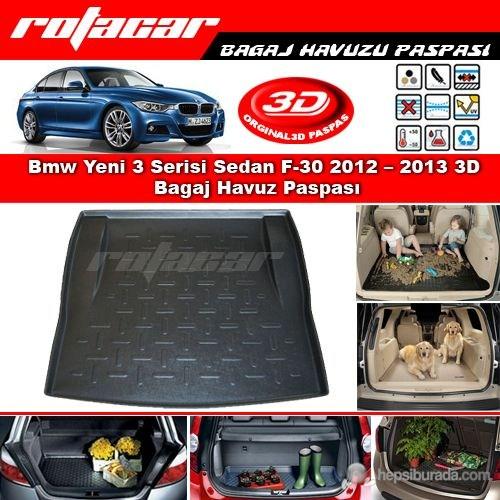 Bmw Yeni 3 Serisi Sedan F-30 2012 2013 3D Bagaj Havuz Paspası BG70