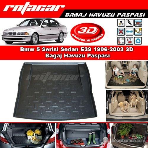 Bmw 5 Serisi Sedan E39 1996-2003 3D Bagaj Havuzu Paspası BG011
