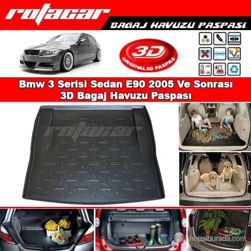 Bmw 3 Serisi Sedan E90 2005 Ve Sonrası 3D Bagaj Havuzu Paspası BG013
