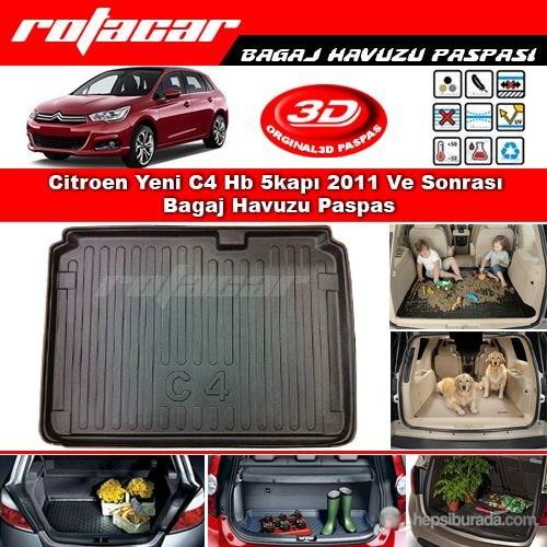 Citroen Yeni C4 Hb 5kapı 2011 Ve Sonrası Bagaj Havuzu Paspası BG025