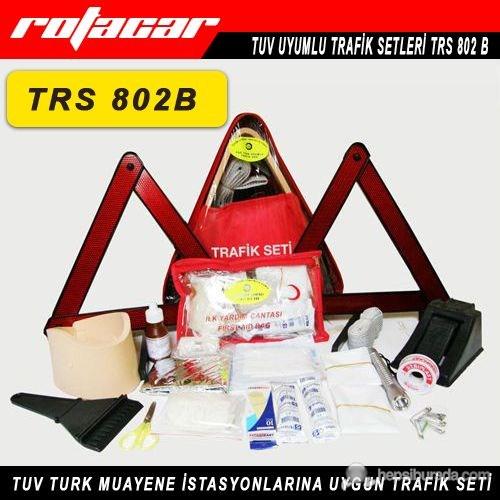 Rotacar Üçgen Lüks Trafik Seti 2918 Yönetmelik Uyumlu Trs802b