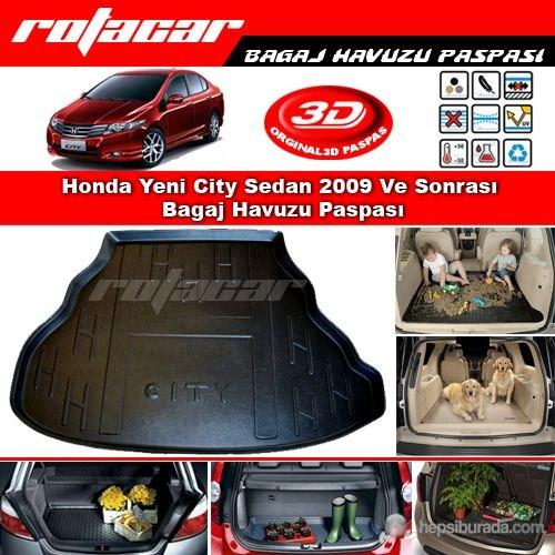 Honda City Sedan 2009 Ve Sonrası Bagaj Havuzu Paspası