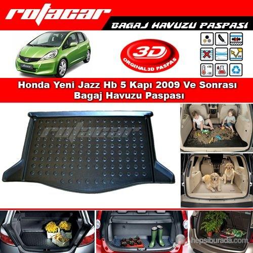 Honda Jazz 2008 Sonrası Bagaj Havuzu Paspası