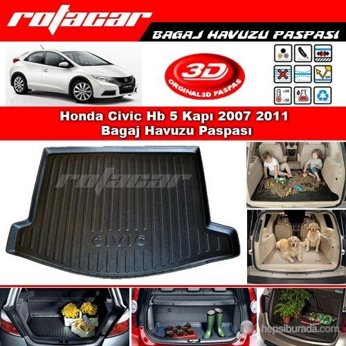 Honda Civic Hb 5 Kapı 2007 2011 Bagaj Havuzu Paspası BG072