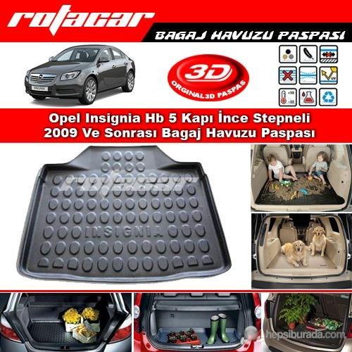 Opel Insignia Hb 5 Kapı İnce Stepneli 2009 Ve Sonrası Bagaj Havuzu Paspası BG0126