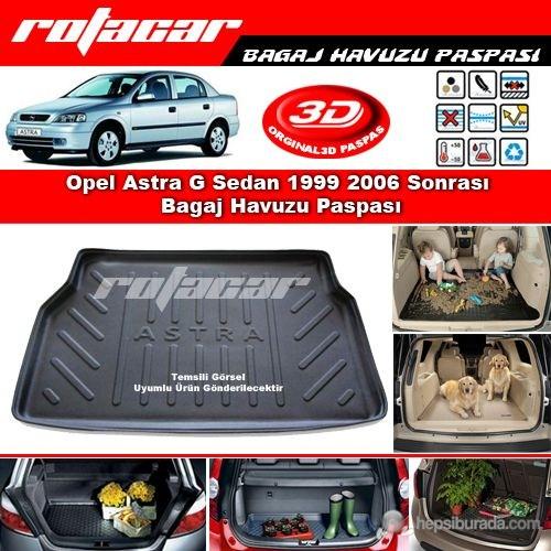 Opel Astra G Sedan 1999 2006 Bagaj Havuzu Paspası BG0133