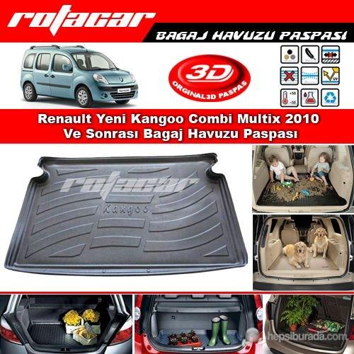 Renault Yeni Kangoo Combi Multix 2010 Ve Sonrası Bagaj Havuzu Paspası BG0150