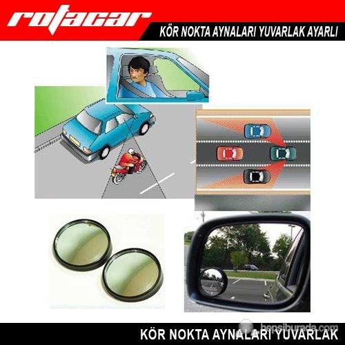 Rotacar Oynarlı Siyah Kör Nokta Aynası 2 Adet Kna01