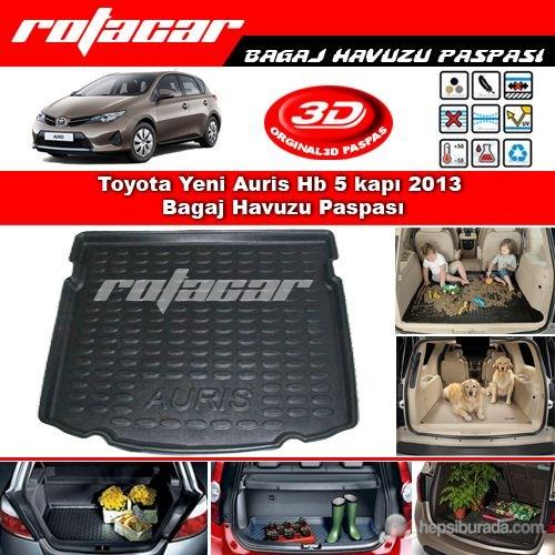 Toyota Yeni Auris Hb 5 kapı 2013 Bagaj Havuzu Paspası BG0300