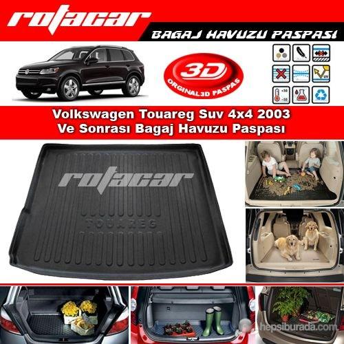 Volkswagen Touareg Suv 4x4 2003 Ve Sonrası Bagaj Havuzu Paspası BG0192