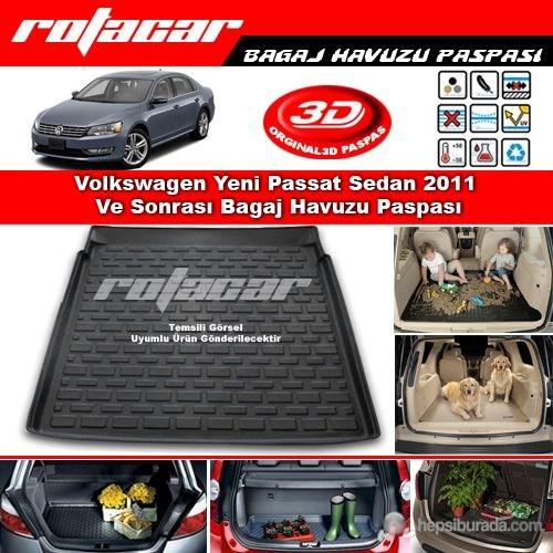 Volkswagen Passat B7 Sedan 2011-2014 Bagaj Havuzu Paspası