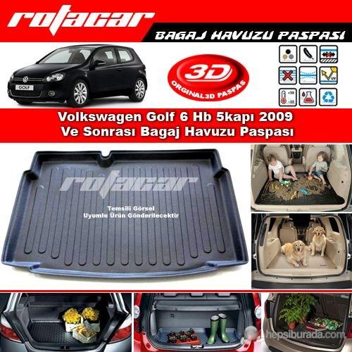 Volkswagen Golf 6 Hb 5 Kapı 2009 Ve Sonrası Bagaj Havuzu Paspası BG0199