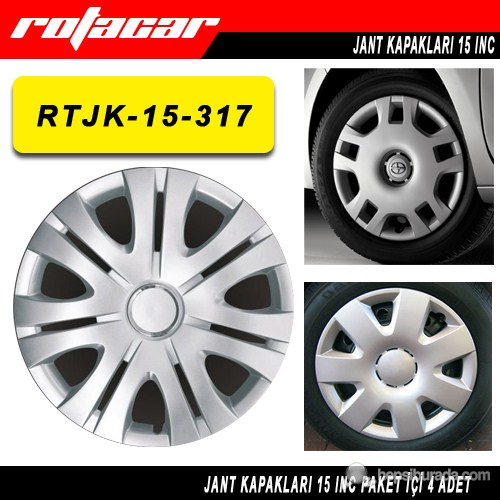 15 INC Jant Kapağı RTJK15317