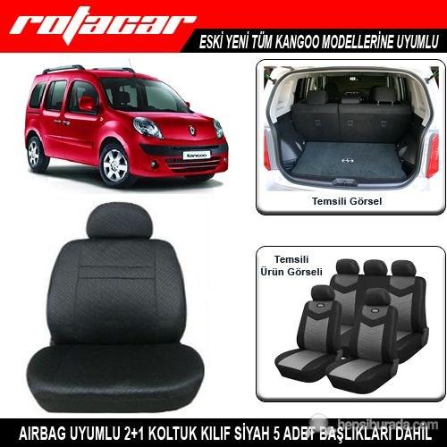 Renault Kangoo Koltuk Kılıfı Siyah Kket010