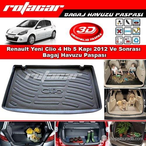 Renault Yeni Clio 4 Hb 5 Kapı 2012 Ve Sonrası Bagaj Havuzu Paspası BG0251