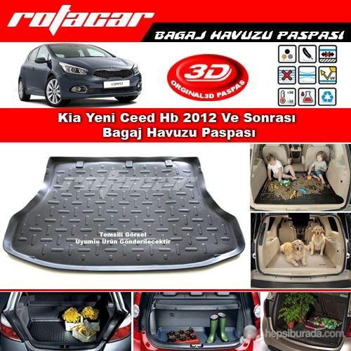 Kia Yeni Ceed Hb 2012 Ve Sonrası Bagaj Havuzu Paspası BG0320