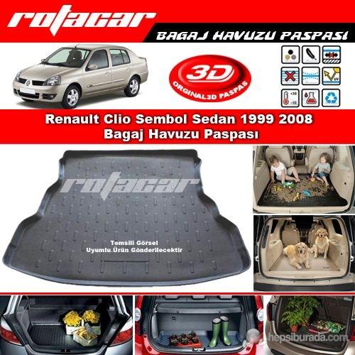 Renault Clio Sembol Sedan 1999 2008 Bagaj Havuzu Paspası BG0325