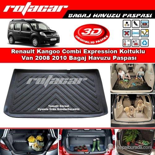 Renault Kangoo Combi Expression Koltuklu Van 2008 2010 Bagaj Havuzu Paspası BG0335