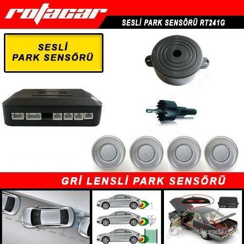 Rotacar Bazırlı Park Sensörü Gri Lensli Rt241g