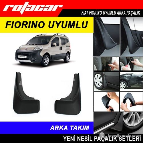 Fiat Fiorino Arka Paçalık Seti Rt58492