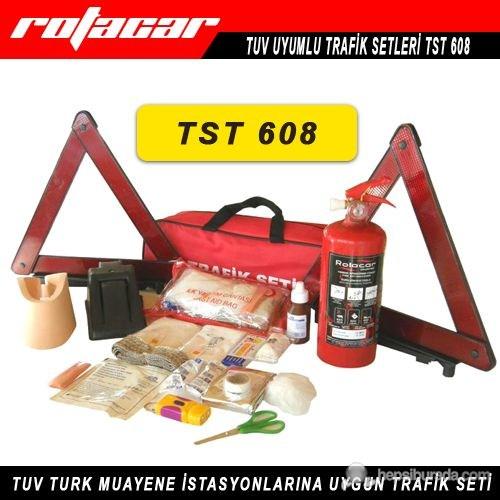 Rotacar Trafik Seti Yangın Söndürücülü Tst608
