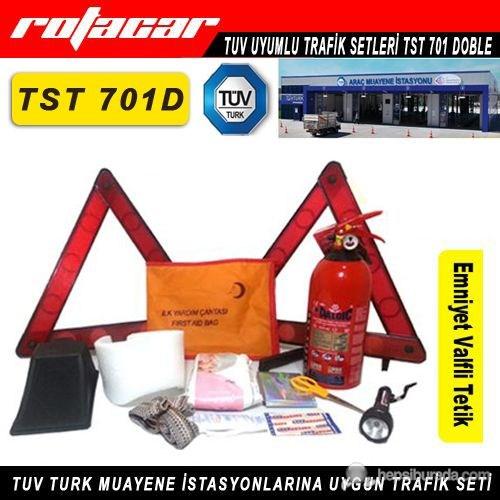 Tüplü Trafik Seti Tuv Turk Muayene Uyumlu Tst701D